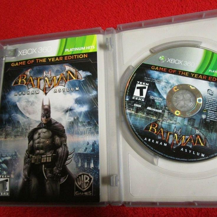 Check out batman arkhamasylum game oftheyear edition