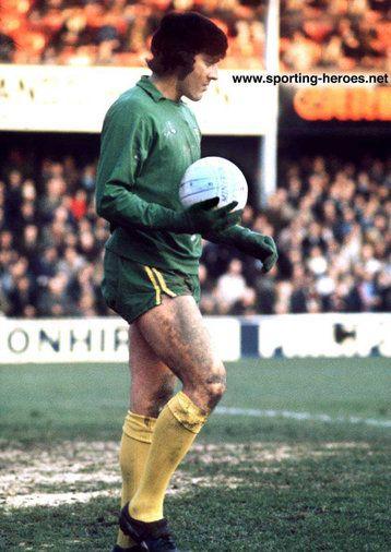 Kevin Keelan - Norwich City FC - League appearances.