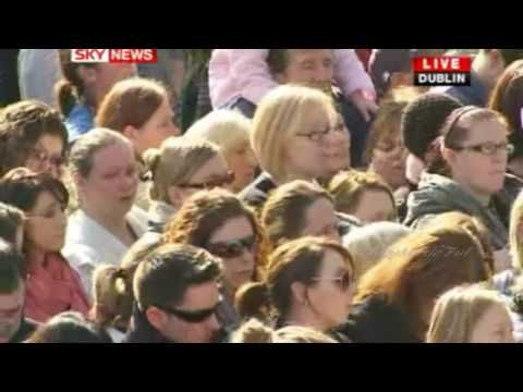 """▶ Boyzone sing at Stephen Gately's funeral """"In This Life"""" - YouTube"""