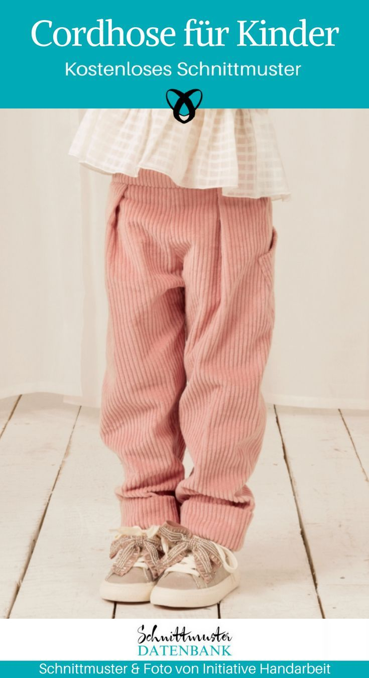 Corduroy trousers for children
