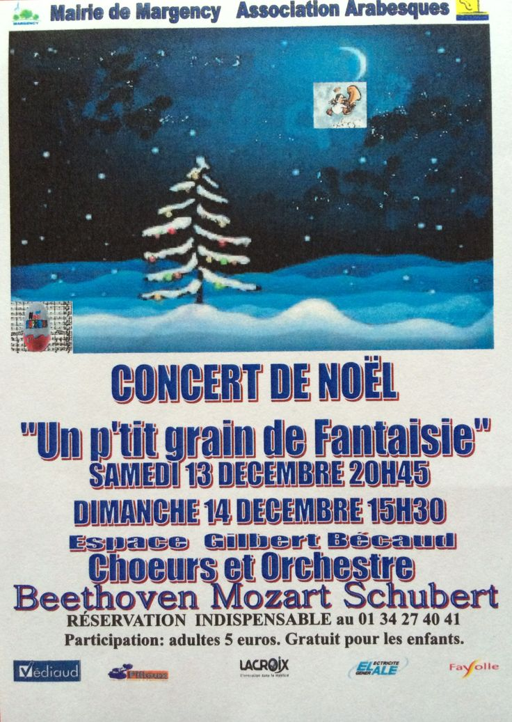 Concerts à Margency (Val d'Oise)