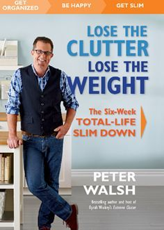 14 Decluttering Secrets We Learned From Peter Walsh's Facebook Q&A | Rodale News