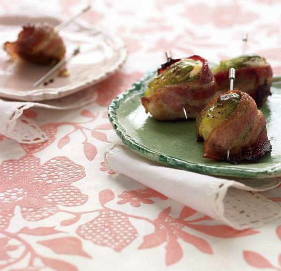 Bacon Brussels Sprouts #Bacon, #Bake, #Brussels