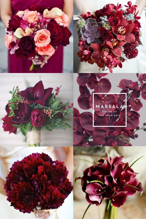 Marsala Flowers, Pantone of the year #enviaflores