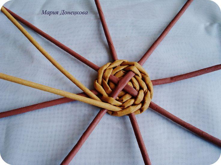 Фото мастер-класс.   Плетение из газет   VK