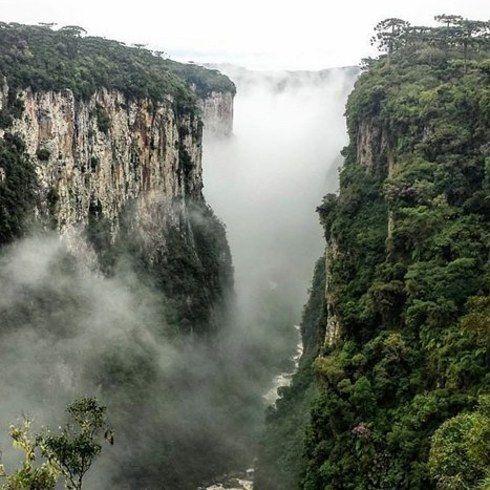 14 lugares que vão te dar vontade de visitar o Rio Grande do Sul - Cânion do Itaimbezinho