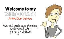 Fiverr - Professional Whiteboard animations starting at $5!