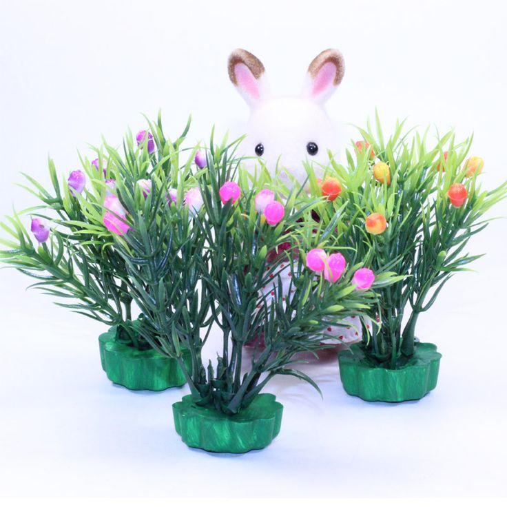 Ягодный куст  Деревья и цветы для Sylvanian families на сайте mamau.ru