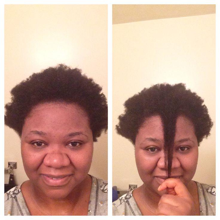 4c hair length check. April 2015