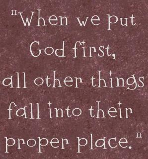 Putting God first.: Amen, Inspiration, Quotes, Faith, So True, God First