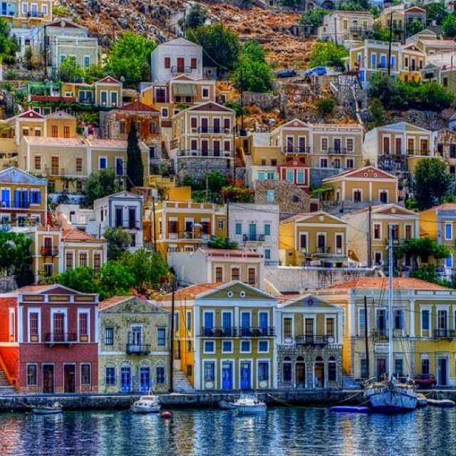 Simi, one of the most beautiful islands in Greece    One of these days!