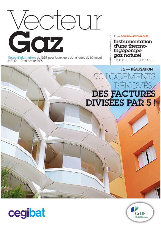 Vecteur Gaz | GrDF Cegibat Le N°110 est sorti  Créez votre compte client pour le consulter en ligne http://www.cegibat.grdf.fr/mon-compte