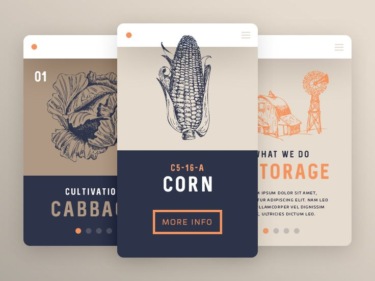 Agriculture UI by Robin Remsa