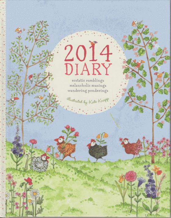 Image of 2014 Diary by Kate Knapp Twigseeds