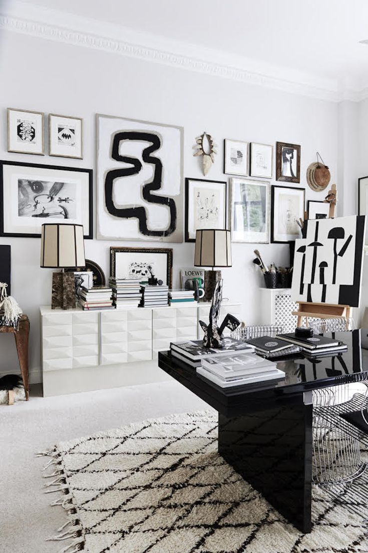 The striking, eclectic home of Malene Birger