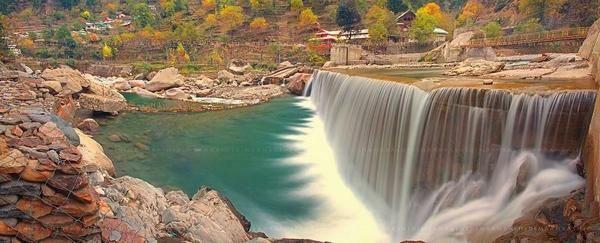 """Beauty is in the eye of the beholder."" Kutton Waterfall, Azad Kashmir"