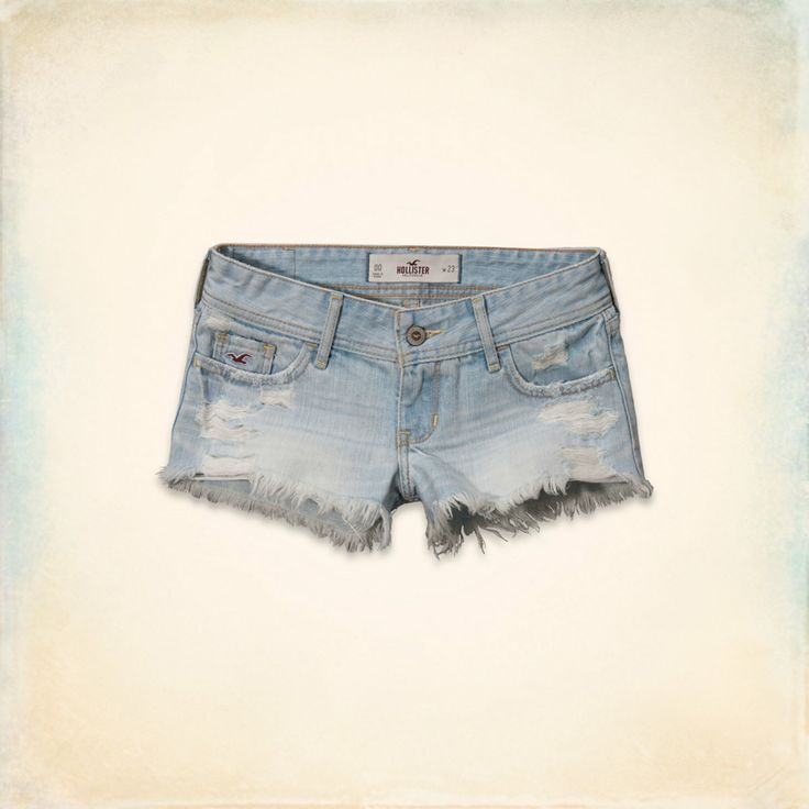 Short court, taille basse - Hollister
