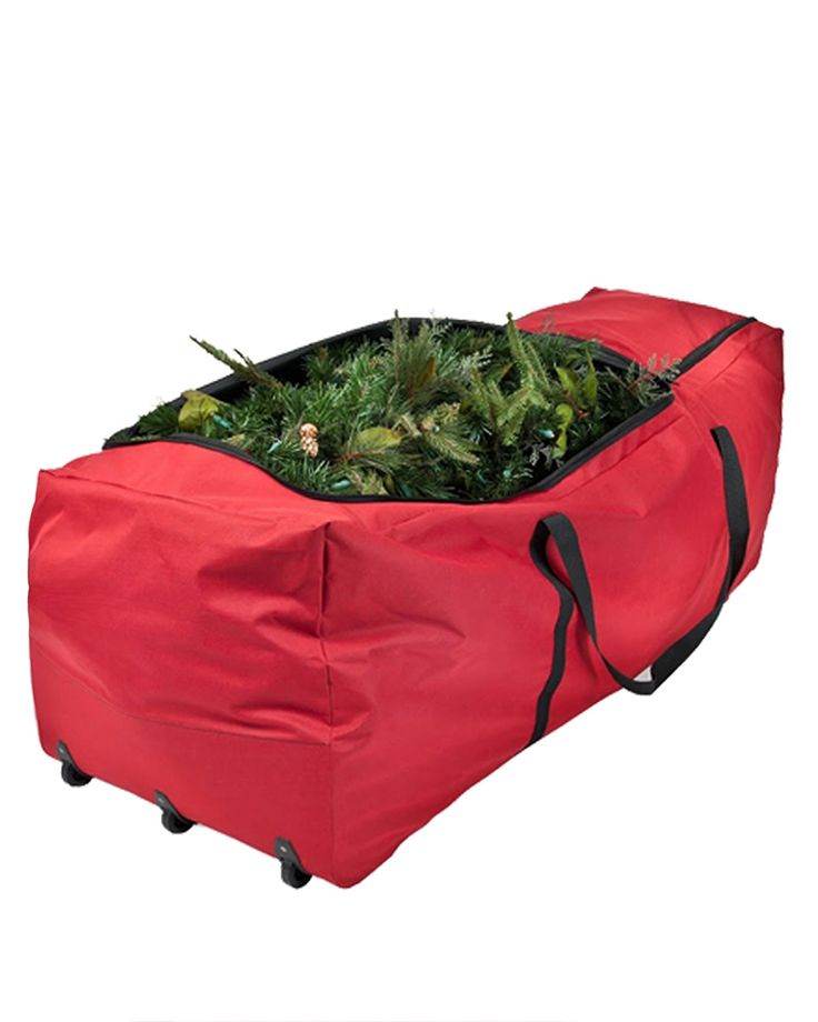 Keep your artificial Christmas tree safe, clean and ready to use for next year's holiday season with the Ready to Roll Christmas Tree Storage Bag from Treetopia. Shop now!