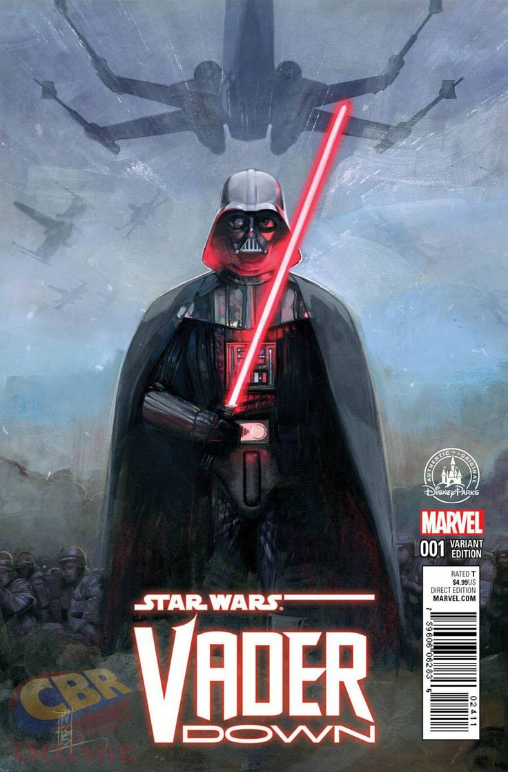 Watercolor book covers - Star Wars Vader Down 1 Variant Cover By Alex Maleev L Comic Book Cover
