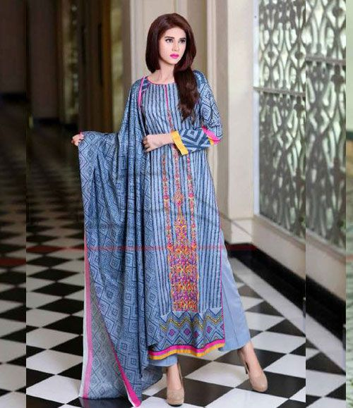 Lala Classic Cotton Embroidered lawn Suits Vol 1. CCE_09A