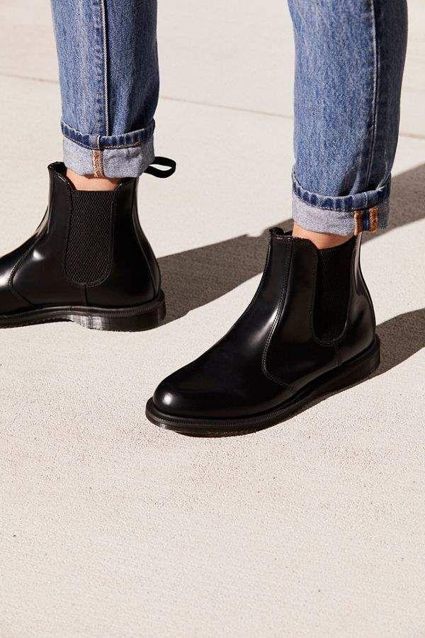 Dr Martens Flora Chelsea Boots Chelsea Boots Boots Chelsea Boots Outfit