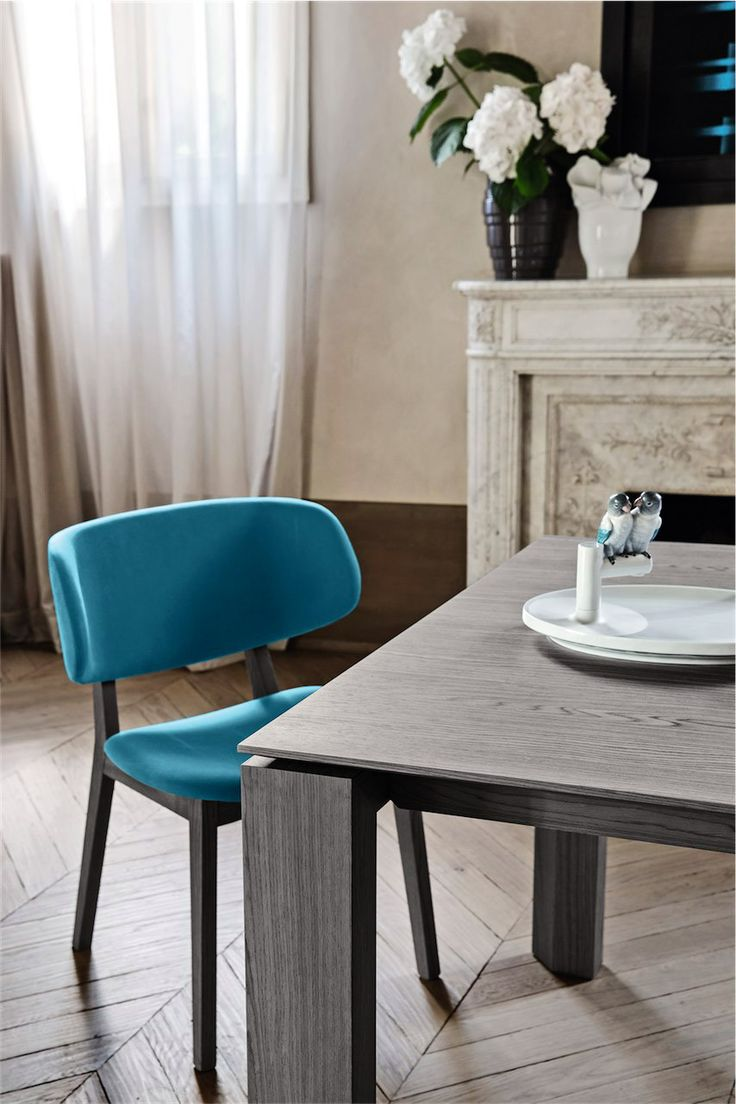 Calligaris claire dining chair available in a number of colours and finishes