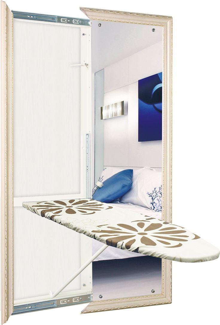 Гладильная доска встроенная в зеркало BELSI Venezia Santi