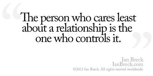who controls the relationship