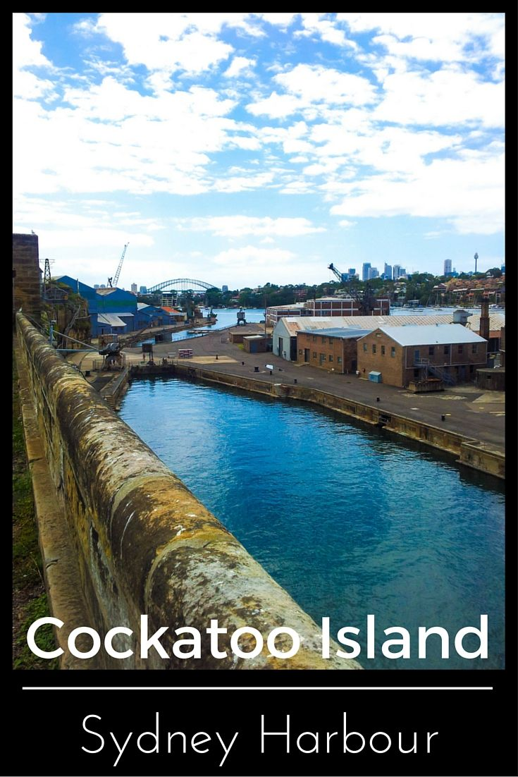 Cockatoo Island is a UNESCO site. Hidden behind the other big sites  in the Sydney harbour.