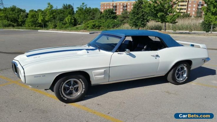 1969 Pontiac Firebird #pontiac #firebird #forsale #canada