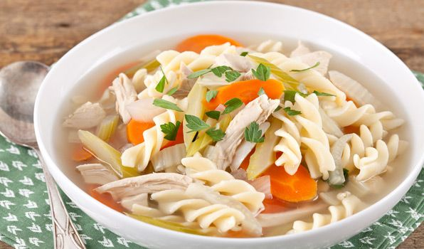 Chicken Noodle Soup - In the Kitchen with Stefano Faita