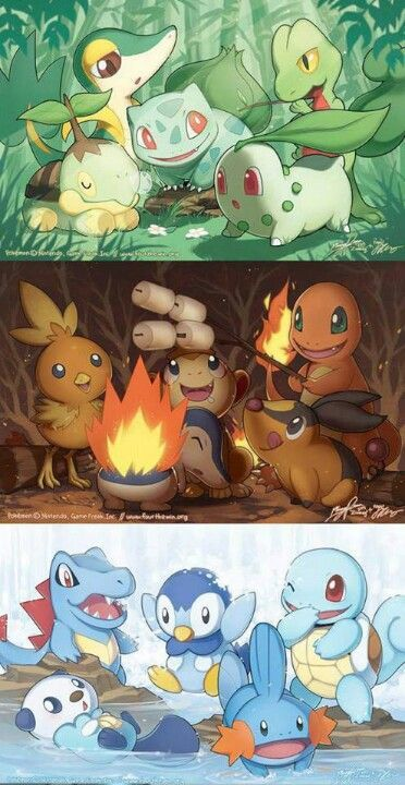 Pokemons felices