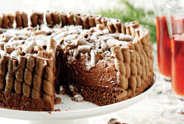 Βελούδινη τούρτα σοκολάτας (Τούρτα «Περίπτερο»)