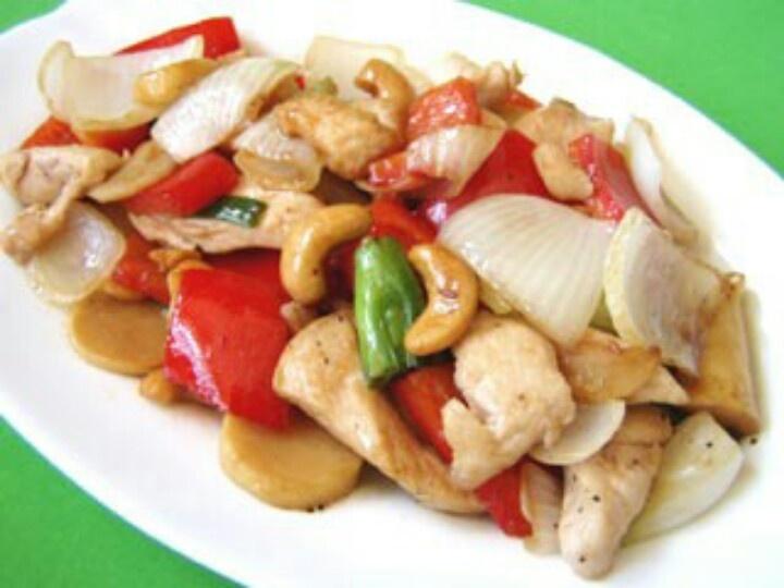 Cashew nut chicken!!! | Asian Inspired Foodz!!! | Pinterest