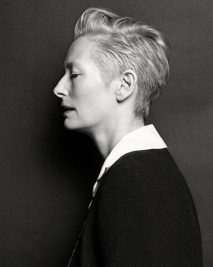 Tilda Swinton by Hong Jang Hyun  for Vogue Korea August 2015