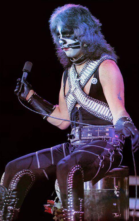 KISS Peter Criss ALIVE II Era Poster Stand-Up Display - Kiss Band Kiss…