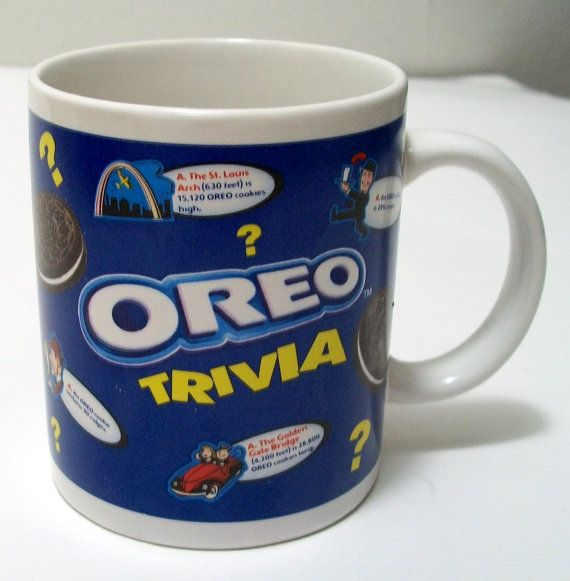 Vintage Collectible Nabisco Oreo Cookies Trivia by OwlsBasket