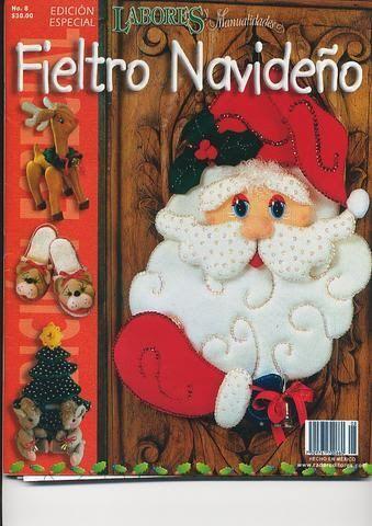 Fieltro Navideño N8 - MONICA FANNY DI ROMA - Picasa Web Albums