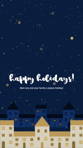 how to design a happy holiday night mobile wallpaper click here