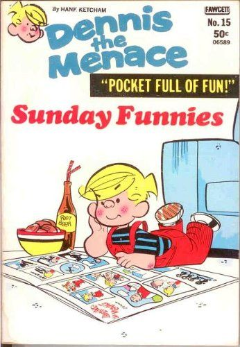 "Dennis the Menace ""Pocket Full of Fun"" #15, January 1973:  Sunday Funnies"
