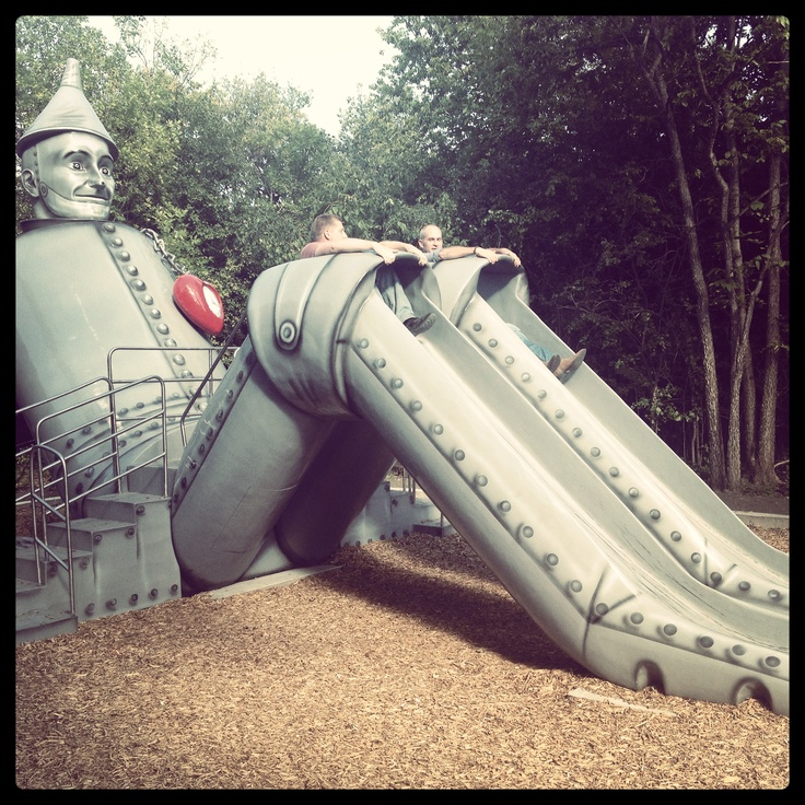 The Tin Man may be in search of his heart but Aberdeen and visitors love Tin Man and Storybook Land in Aberdeen, South Dakota!