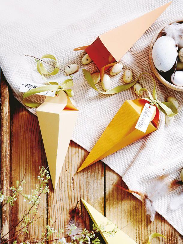Papiermöhrchen: So einfach bastelst du sie selbst