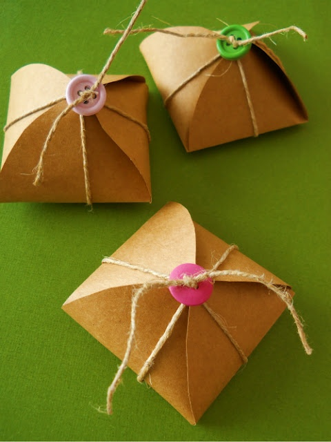 homemade bonbon boxes