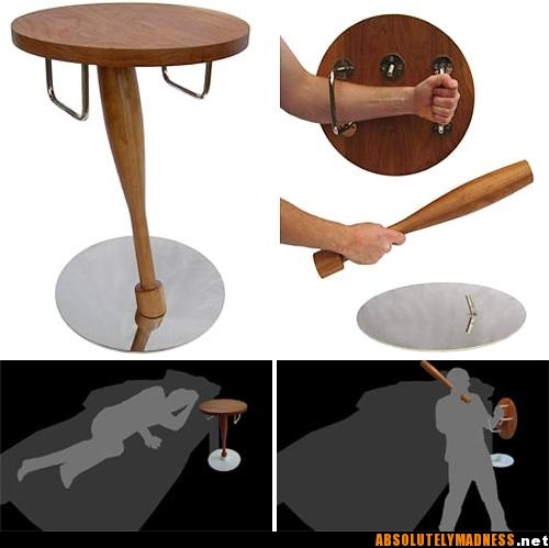 Great home protection or perfect tables for a rough bar!
