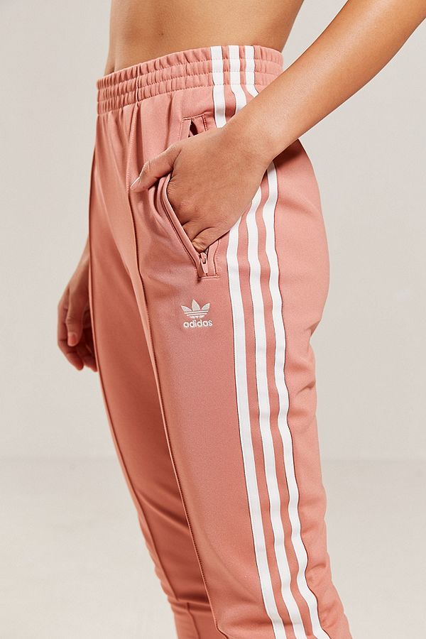 we are adidas hose pink rosa