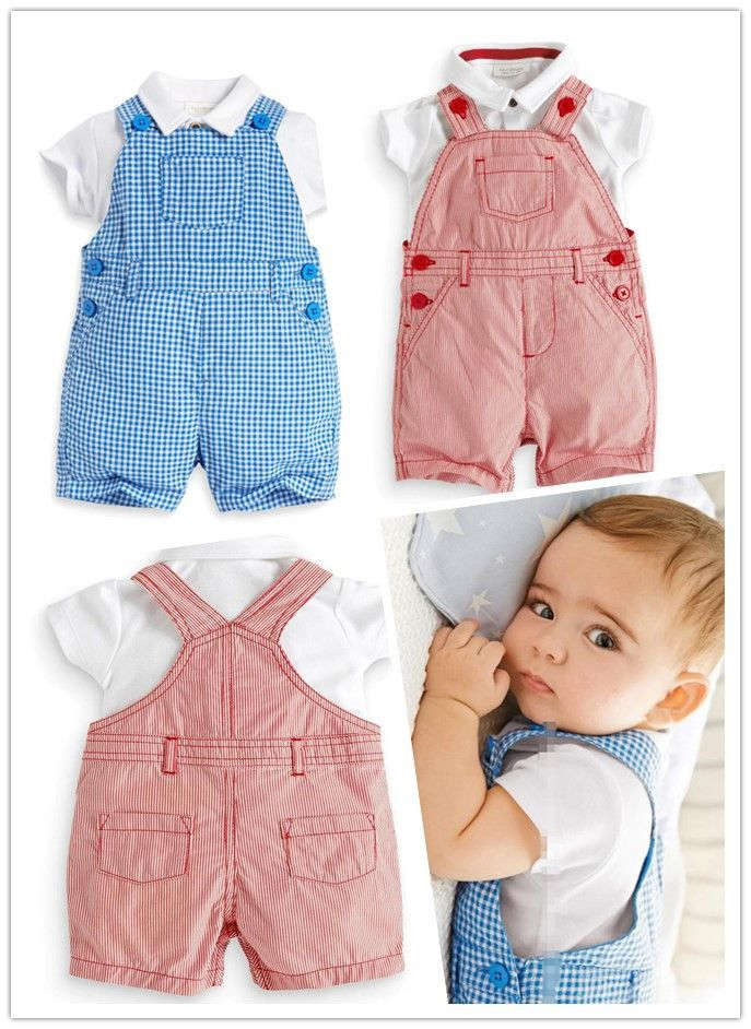 Barato 2015 nova meninos verão definir meninas roupas set carters suit2pcs roupas bebes romper do bebê macacões infantis, Compro Qualidade Macacão/Body diretamente de fornecedores da China: 2015new European and American style of the baby clothing sets baby boy suit Overalls +T shirt gentleman baby romper bebe