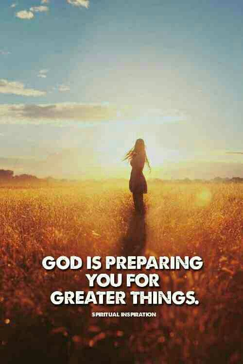 A season of waiting will always prepare you for greater things. Thank God for this season.