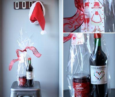 Swedish Hostess Gift - Lingonberry Jam & GloggHostess Gift