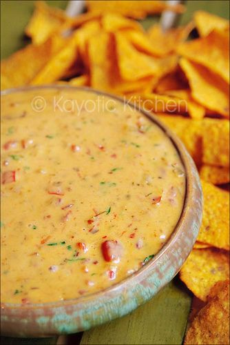 """Chili Con Queso - Pinner says: """"Made this Queso dip for a football party, everyone LOVED IT and asked for the recipe. :-) I think it is just as good if not better than any restaurant!"""""""