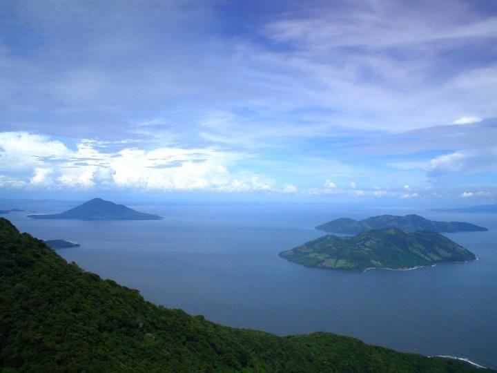 Islas del Golfo de Fonseca desde el Volcan Conchagua, El Salvador
